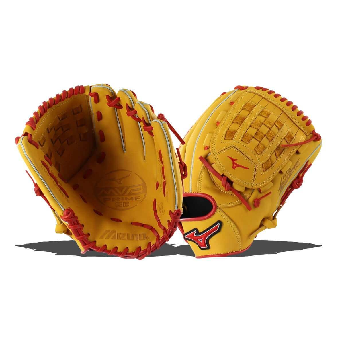 Mizuno MVP Prime Baseball Glove Fully Closed Web