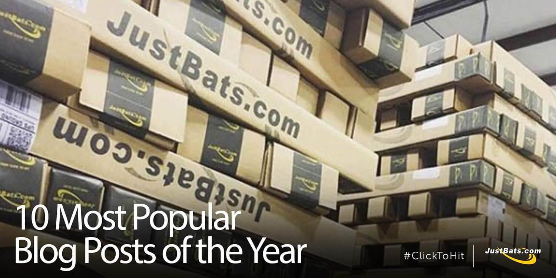 10 Most Popular 2017 JustBats.com Blog Posts