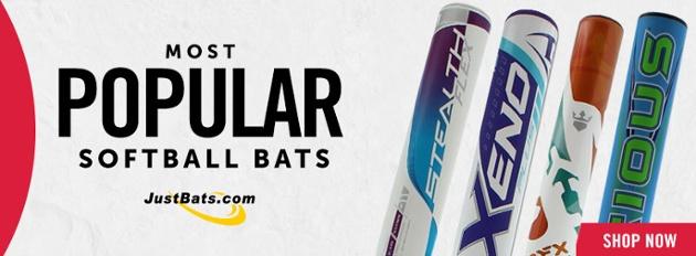 Most Popular Softball Bats on JustBats.com!