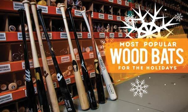 Check Out Our Most Popular Wood Bats for the Holidays!