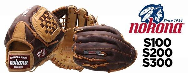 The Nokona Alpha Select Series Youth Gloves