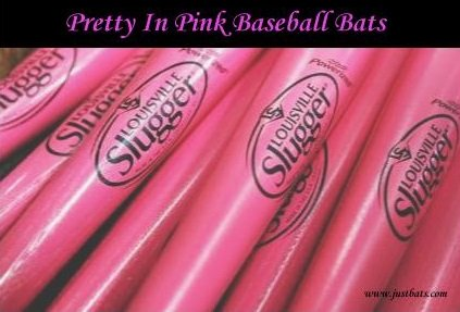 Pink Baseball Bats For A Cause