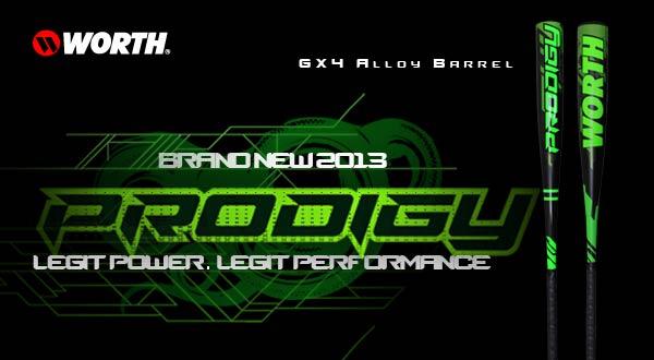 Worth Prodigy Legit GX4 BBCOR & Senior League