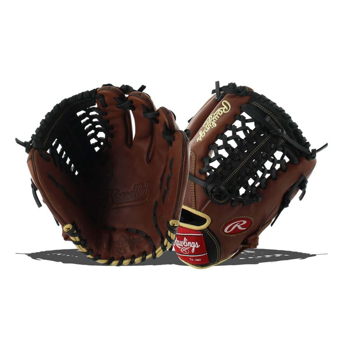 Rawlings Sandlot Baseball Glove Modified Trapeze Web