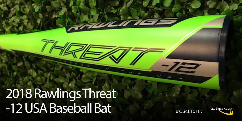 Bat Review: 2018 Rawlings Threat -12 USA Baseball Bat