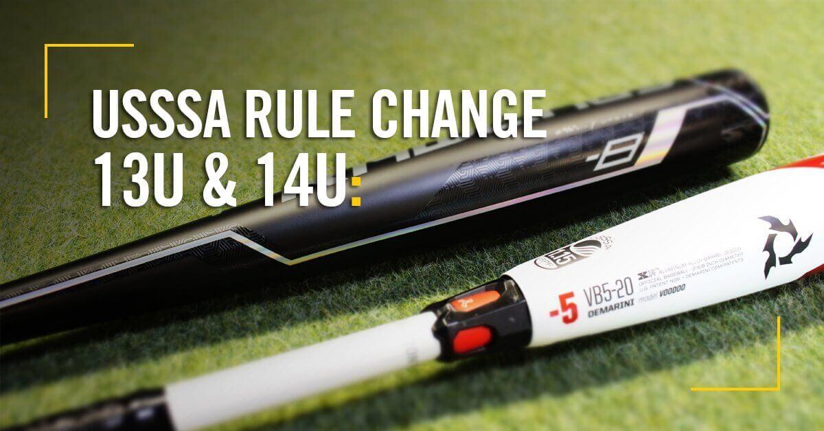 USSSA Rule Change For 13U & 14U