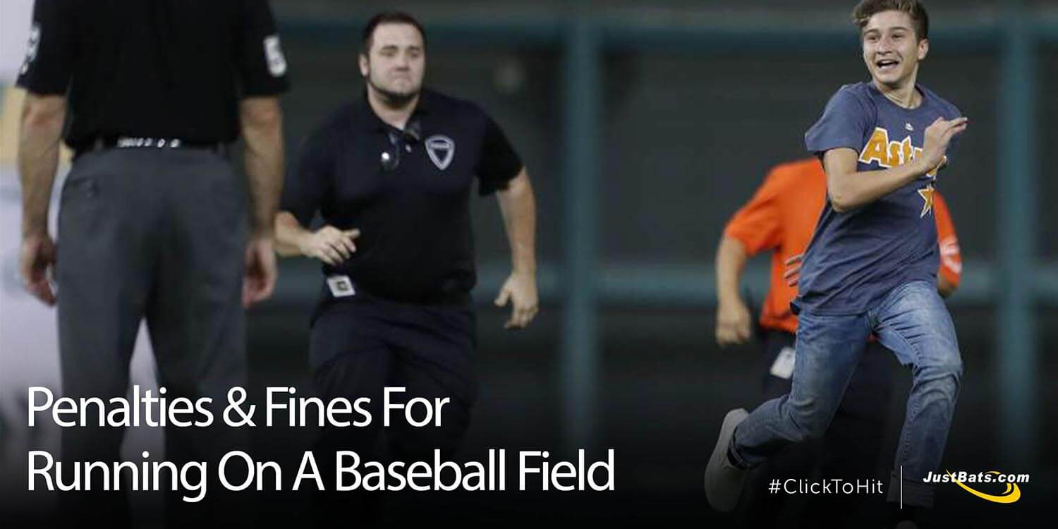 Penalties & Fines For Running On A Baseball Field