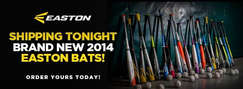 Easton Pre-Book Bats Ship Today!