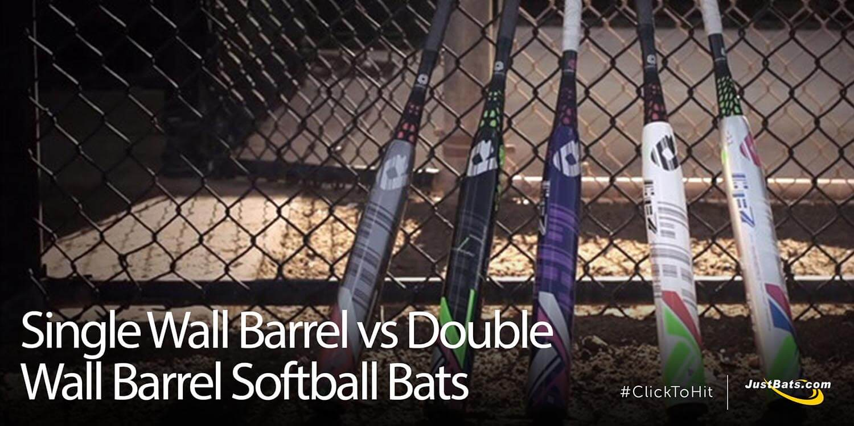 Single Wall Barrel vs Double Wall Barrel Softball Bats