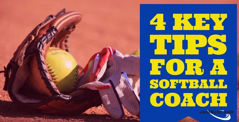 4 Key Tips For A Softball Coach