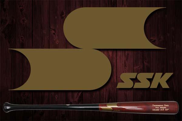 SSK Professional Edge Pro Maple Wood Bat