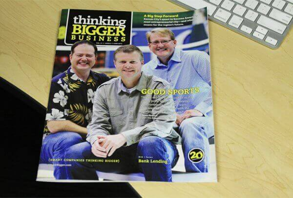 JustBats.com Featured In Thinking Bigger Business Magazine