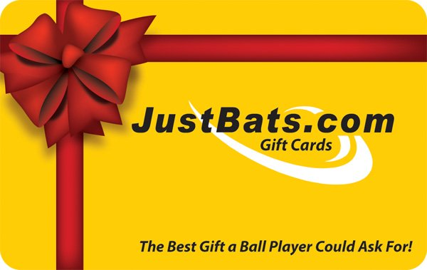 JustBats.com Gift Cards Are The Perfect Present!