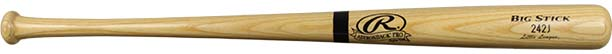 The Rawlings Ash Wood Bat Youth (242JAP) at JustBats.com.