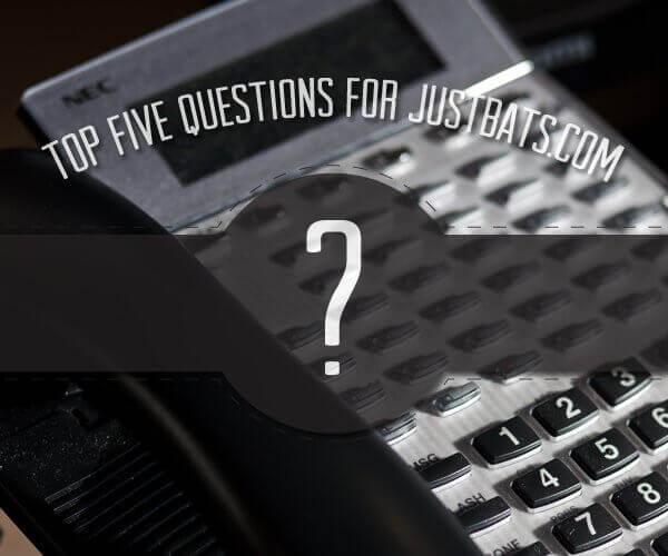 Top 5 Questions For JustBats.com