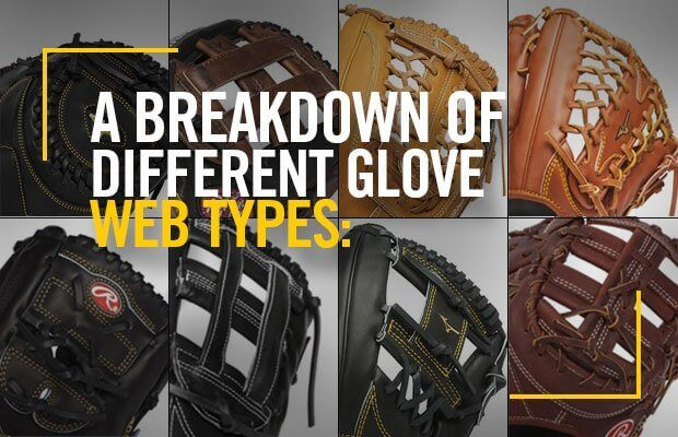 A Breakdown of Different Glove Web Types