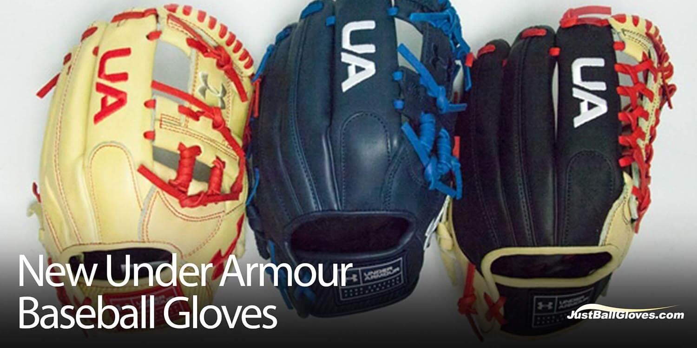 New 2018 Under Armour Baseball Gloves