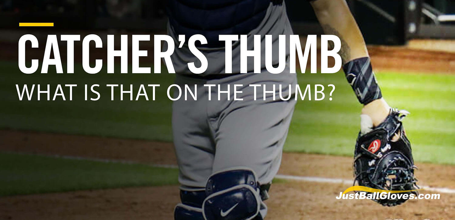 What Is That On A Catcher's Thumb?