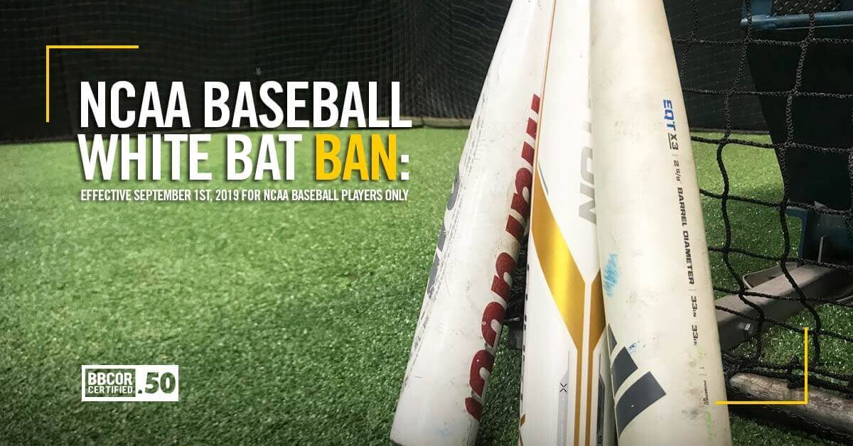 2020 BBCOR White Bat Ban