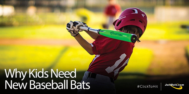 Why Kids Need New Baseball Bats