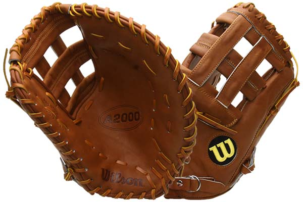 Wilson A2000 BB1883 First Base Mitt at JustBallGloves.com