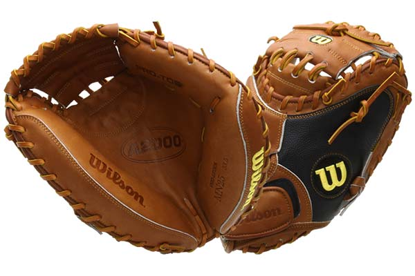 Wilson A2000 BBMN25GM Catcher's Mitt at JustBallGloves.com