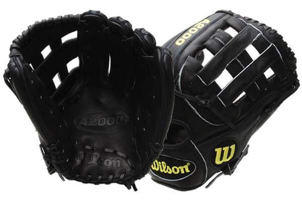 Wilson A2000 BBSSDW5 SuperSkin at JustBallGloves.com