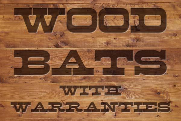 Wood Baseball Bats with Warranties at JustBats.com