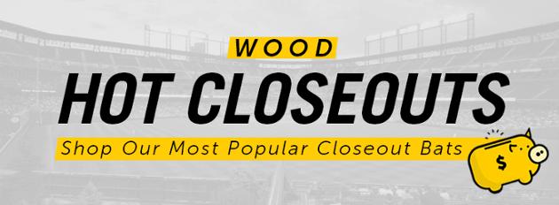 Closeout Wood Bats | Closeout Baseball Bats Wood