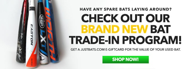 JustBats.com's Exclusive Bat Trade-In Program