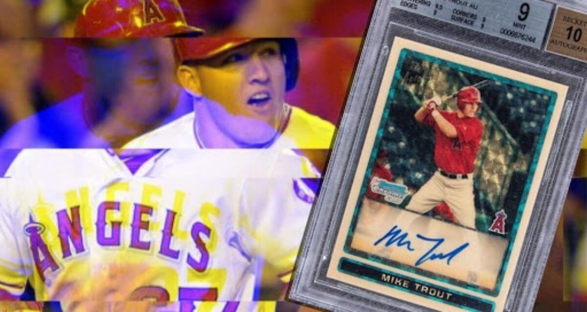 Mike Trout Record Baseball Card